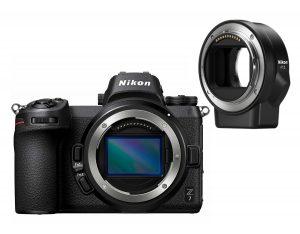 Nikon Z7 kamerahus + FTZ adapter